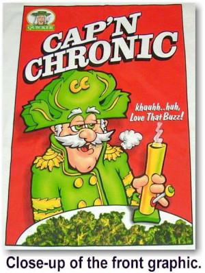 Captain Chronic (Marijuana Cartoon)