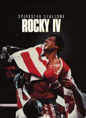 ... Rocky III entre Apollo y Rocky , con los personajes de Quagmire y