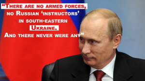 Russian troops in Ukraine? Got any proof?' Putin's best quotes from ...