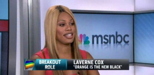 "Laverne Cox: ""I'm Not Supposed to Be Here"""