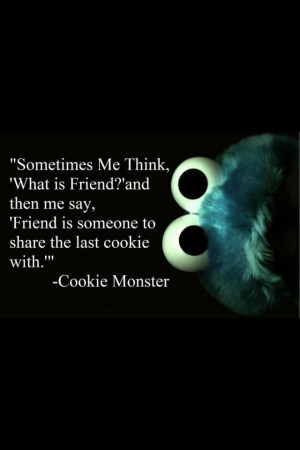 cookie monster quotes