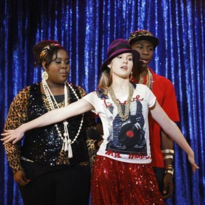 Raven Goodwin and Bridgit Mendler on Good Luck Charlie from the ...