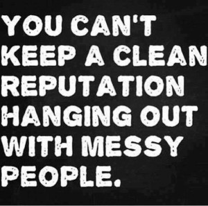messy people