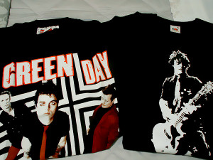 giveaway Band merchandise Green Day Green Day giveaway