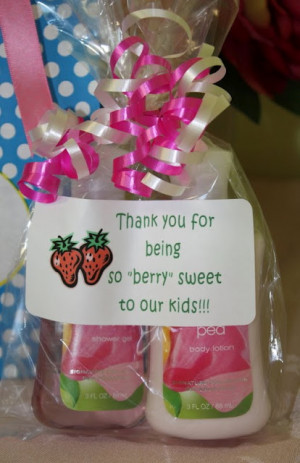 Small gift basket filled with hugs...