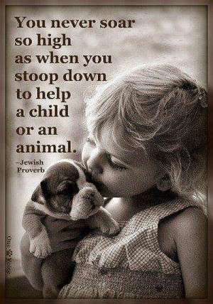 Animal help jewish proverb