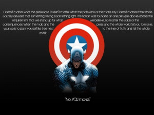 text captain america quotes typography the avengers 1440x1080 ...