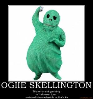 ogiie skellington jack skellington ogie boogie nightmare bef
