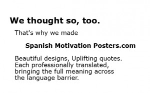 inspirational quotes in spanish translated in english