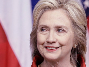 Hillary Clinton isn't on stage to defend herself , but she still ...