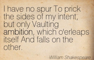 """... on th'other…"""" (William Shakespeare in Macbeth, Act I, Scene VII"""
