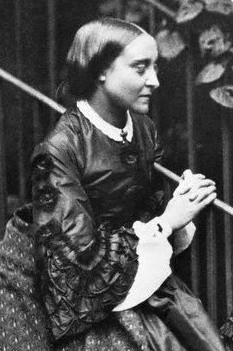 Christina Rossetti, poet and sister of Dante Gabriel Rossetti ...
