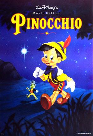 Disney Pinocchio Poster