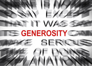 Generosity is certainly an admirable quality. To be generous means to ...