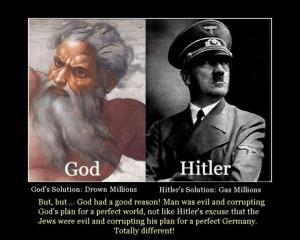 God's Solution vs Hitler's Solution