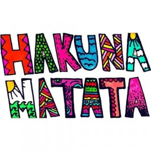 colorful, hakuna matata, lovely, quotes - inspiring picture on ...
