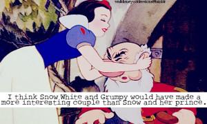 Grumpy Quotes Snow White Walt disney confessions