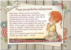 Prayer of protection and provision for my family