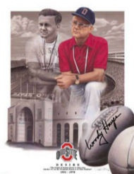 Coach Woody Hayes an Ohio State legend