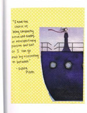 Sylvia Plath quote