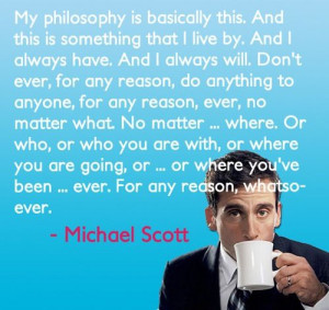 Best inspirational speech ever given by the awesome Michael Scott.