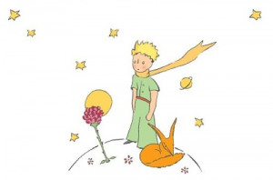 And finally, the most famous quote from The Little Prince: