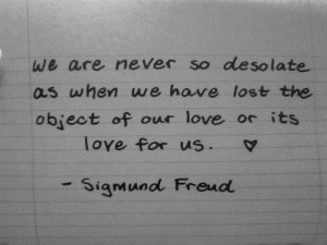 Sigmund freud quotes and sayings deep wise love