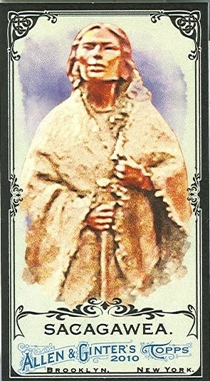 Sacagawea Black And White