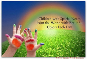 Special Needs Quotes Children with Special