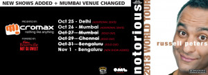 Russell Peters Schedule
