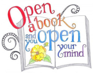 Open a book! Open lots of books!