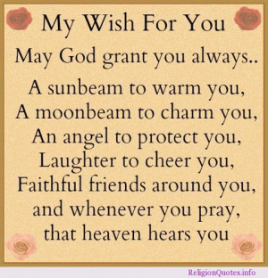 great wish today for your friends and family.