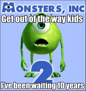 monster's inc part two, funny pictures
