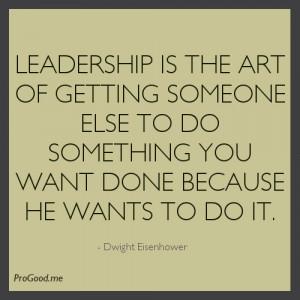 Leadership The Art Getting