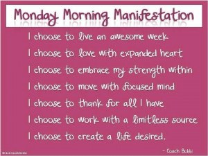 Love Monday Quotes I love mondays!! well getting