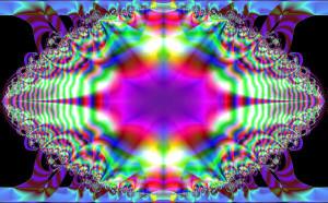 ... art, space art, and wallpaper, fractal digital art cosmic third eye