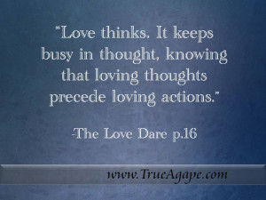 Inspirational Quotes on Marriage- The Love Dare