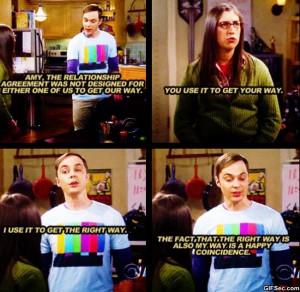 Sheldon And Amy The Big...