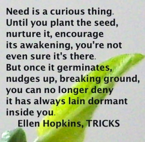tricks by ellen hopkins The paperback of the tricks by ellen hopkins at barnes & noble free shipping  on $25 or more.