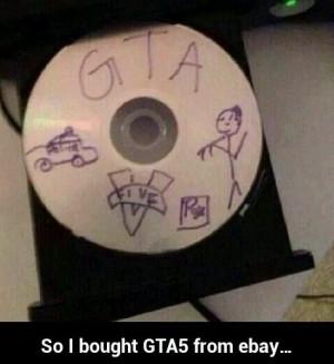 GTA 5 on Ebay