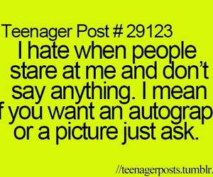 funny, life, quotes, relatable, school, stare, teenager, sassiness ...