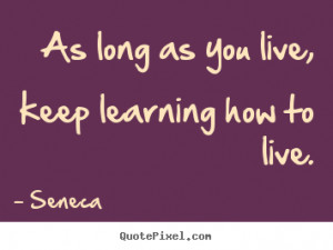 Life Quotes From Seneca