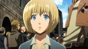 shingeki no kyojin attack on titan Armin Arlert ginga densetsu weed ...