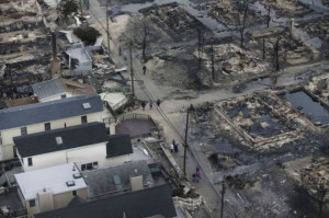 Hurricane Sandy Devastation