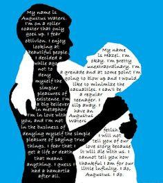 TFIOS Hazel and Augustus Quotes by alinasrocks