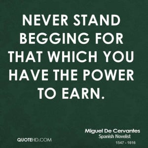 Keywords Power Earn Begging Quote Quotes