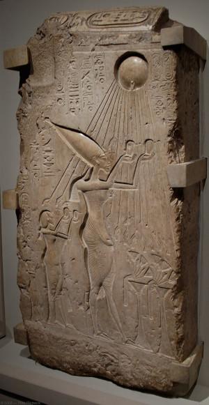 Akhenaten Nefertiti...