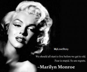 Famous Quotes By Marilyn Monroe | My Love Story