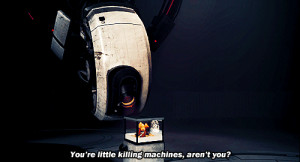 GLaDOS Quotes | portal GlaDOS portal 2 this one's for the baby album ...