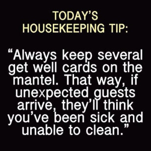 Cleaning Humor